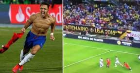 WATCH: Alexis Sanchez Ruins James Rodriguez