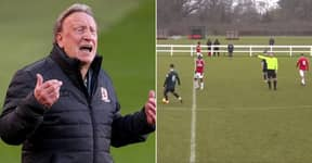 Neil Warnock Hilariously Blasts Referee From Touchline In Middlesbrough Youth Game