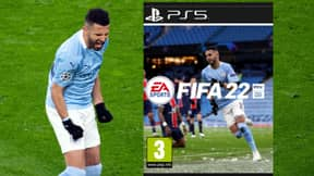 Riyad Mahrez Is Beating Mo Salah, Cristiano Ronaldo And Lionel Messi In FIFA 22 Cover Star Vote