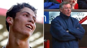 Cristiano Ronaldo Sent A Clear Message To His Teammates When He First Entered Manchester United Dressing Room