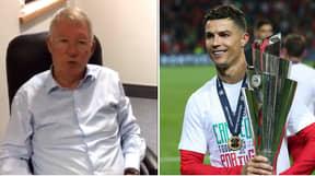 Sir Alex Ferguson Sent A Brilliant Message To Cristiano Ronaldo Congratulating Him On His Award