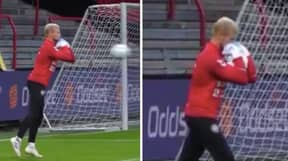 'The Danish Catch' Goalkeeping Technique Will Genuinely Blow Your Mind