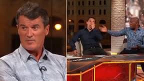 Ian Wright Mocks Roy Keane's Irish Accent During On-Air Spat