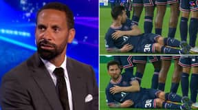 Rio Ferdinand Cant Believe Lionel Messi Did This Against Manchester City