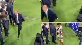 Massimiliano Allegri Storms Off the Pitch Swearing At His Juventus Players In X-Rated Rant