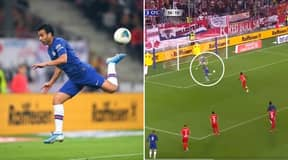 Pedro Scores The Most Outrageous Backheel Volley For Chelsea