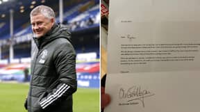 Ole Gunnar Solskjaer Sends Touching Letter To Fan Who Said He Helped Him Through Mental Health Struggles