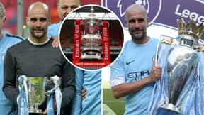 Manchester City Thrash Watford To Win The FA Cup And Complete Historic Domestic Treble