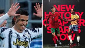 Cristiano Ronaldo Claims 'World's Top Scorer' Award From Pele With Social Media Post