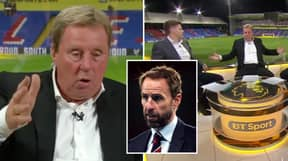 Harry Redknapp's Analysis Of International Breaks And Watching England Play Is Going Viral