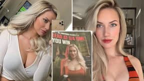 Golf Star Paige Spiranac Calls Out 'Coward' TV Commentator After He Blasts 'Garbage' Racy Advert