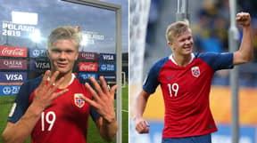 Erling Braut Håland Scores 'Hat-Trick Of Hat-Tricks' In 12-0 Win
