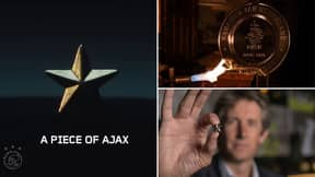 Ajax Melt Their Eredivisie Trophy To Share 42,000 'Champion Stars' With Fans In Remarkable Gesture