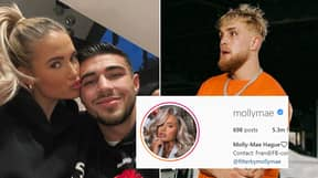 'Molly-Mae Slid Into Jake Paul's DMs' Before Meeting Tommy Fury On Love Island