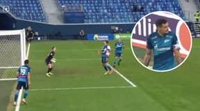 Former Liverpool Defender Dejan Lovren Scores Spectacular Chested Own Goal For Zenit St Petersburg