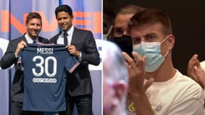 Lionel Messi's 'Final WhatsApp Message' To Barcelona Teammates Before Leaving For PSG Has Emerged