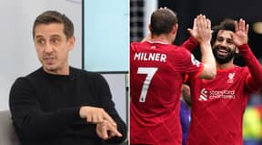 Gary Neville Believes Mohamed Salah Could Still Leave Liverpool For One Of These THREE Teams