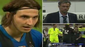 Sensational Footage Of Jose Mourinho's Finest Piece Of Sh*thousery Involves Ibrahimovic