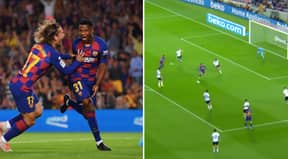 Ansu Fati, 16, Scores Two Minutes Into Full Barcelona Debut In Valencia Thrashing