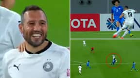 Santi Cazorla Scores Another Screamer For Al Sadd And He's Making It Look Easy