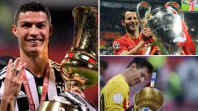 Revealed: The Top 10 Players With The Most Trophies After Cristiano Ronaldo's Coppa Italia Triumph