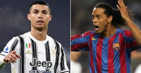 Barcelona Rejected Signing Cristiano Ronaldo In 2003 Because Of Ronaldinho