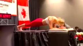 Woman Breaks World Record For Longest Ever Plank