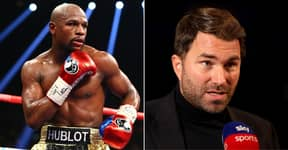 Floyd Mayweather Not On 'Mount Rushmore' Of Boxing GOATs Says Eddie Hearn