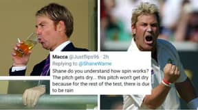 This Response To Shane Warne On Social Media Has Gone Viral For All The Wrong Reasons