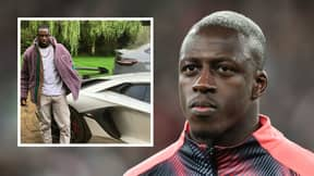 Benjamin Mendy's £475,000 Lamborghini Aventador Is In Danger Of Being Crushed