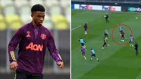 Amad Diallo Making Things Look Ridiculously Easy In Training Has Got Manchester United Fans Excited