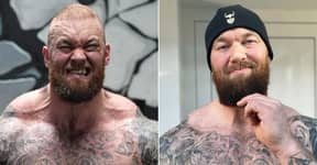 Hafthor Bjornsson Shows Off Remarkable 55lb Weight Loss, Looks Totally Transformed