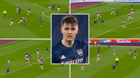 Martin Odegaard Compilation Vs West Ham Shows Why Arsenal Need To Sign Him Permanently