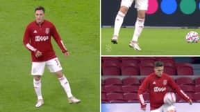 Ajax's Nicolás Tagliafico Performs Incredible Warm-Up Tribute To Diego Maradona