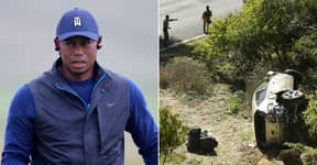 Tiger Woods Reveals Injuries As He Shares First Image Since Horror Car Crash