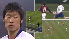 When Park Ji-Sung Man-Marked A Prime Andrea Pirlo And Pocketed Him For 180 Minutes