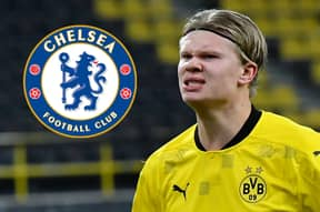 Chelsea Target Erling Haaland Has Cheeky Response To Being Asked About His Future