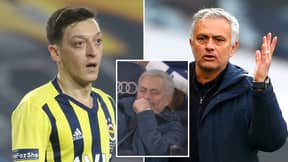 Jose Mourinho Allegedly Told Mesut Ozil His Partner Had Been 'F**ked By Entire Inter and AC Milan Squads'
