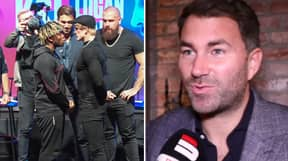 Eddie Hearn Admits He's Frustrated By KSI And Logan Paul After Press Conference