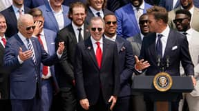 Tom Brady Roasts Donald Trump During Tamba Bay Buccaneers' Visit To The White House