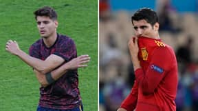 Alvaro Morata Reveals Him And His Family Have Received Death Threats Over His Euro 2020 Form