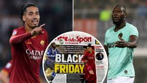 Romelu Lukaku And Chris Smalling Slam Corriere dello Sport's 'Black Friday' Headline