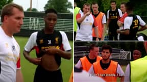 Brendan Rodgers Once Tore Raheem Sterling To Shreds In Liverpool Training For Answering Back