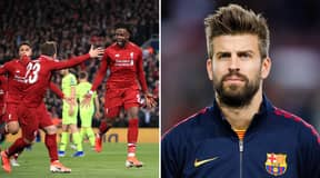 Gerard Pique Reveals How Liverpool Made Him Throw Things In Anger