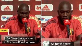 Romelu Lukaku Slams Comparison With Manchester United Forward Cristiano Ronaldo