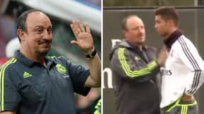 Rafael Benitez Once Ordered Cristiano Ronaldo To Study Footage On USB Drive, He Didn't React Well