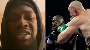 Deontay Wilder Breaks His Social Media Silence As He Addresses Trilogy Fight With Tyson Fury