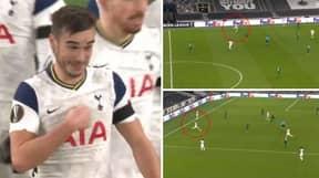 Harry Winks Scores Long Range Goal Vs Ludogorets In The Europa League