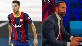 Rio Ferdinand Admits That Sergio Busquets Made Him Feel Like A 'Conference Player' In Barcelona's 3-1 Champions League Final Victory