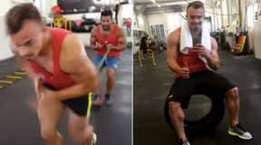 Xherdan Shaqiri's Intense Leg Workouts Are Genuinely Painful To Watch